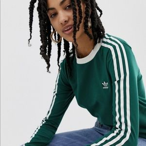 adidas Originals adicolor green t-shirt